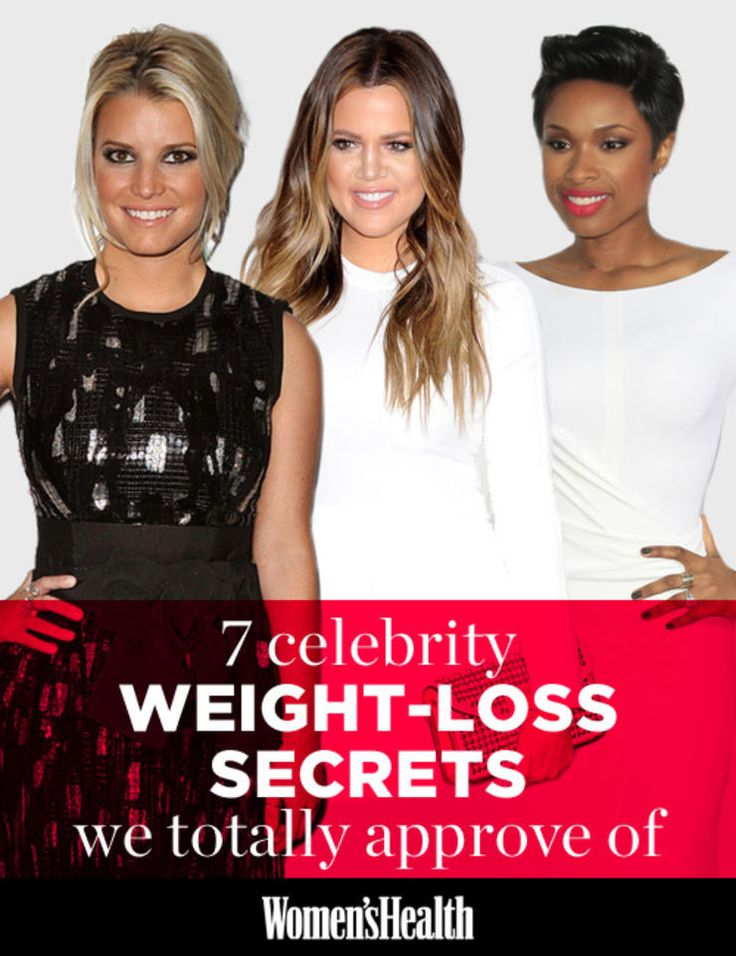 7 Celebrity Weight-Loss Secrets We Totally Approve Of :   |