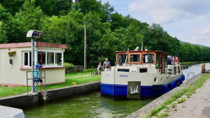 Die geniale Hausboottour auf Frankreichs Kanälen mit Schiffshebewerk