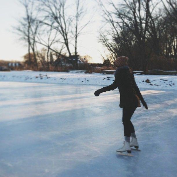 ice skating {☀︎ αηiкα   mer-maid-teen.tumblr.com}