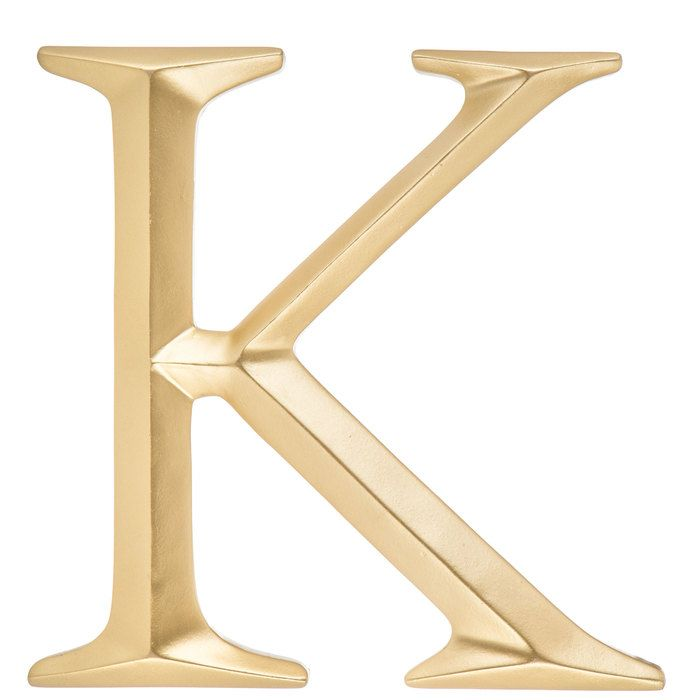 Gold Letter Wall Decor A Letter Wall Decor Letter Wall Initial Wall Decor