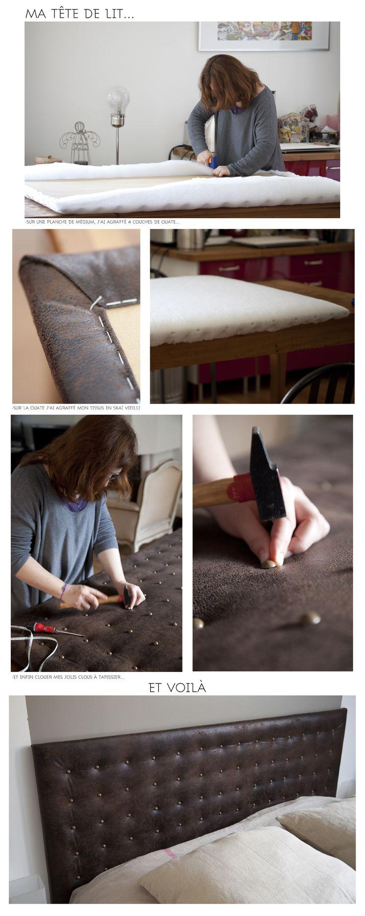 Créer une tête de lit