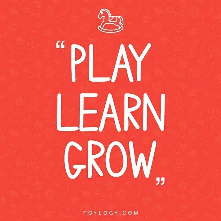 """""""Play, Learn, Grow"""" Biarkan si kecil tumbuh belajar dengan kreatif dengan mainan favoritnya yang bisa didapatkan di buff.ly/2gxBJxN"""