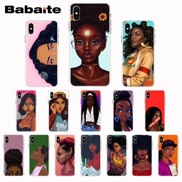 coque iphone 8 plus black girl