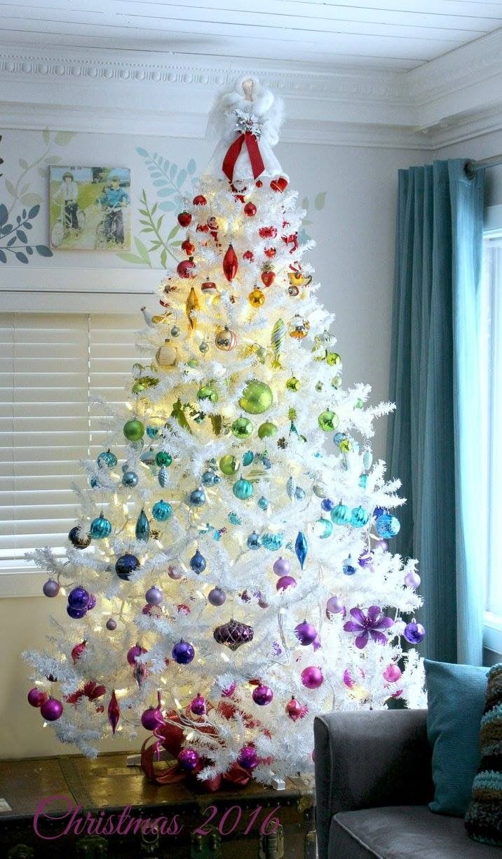 Christmas 2018 Rainbow Trend By John Lewis Will Be A Hit This Year Rainbows Christmas Rainbow Christmas Tree Rainbow Decorations