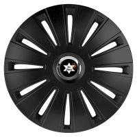 Car Flair - Radkappen - Radzierblenden - Radblenden - Günstige Auto Radkappe - Daytona Pro Schwarz - Angebot Günstige Auto Radkappe - Daytona Pro Schwarz - Angebot