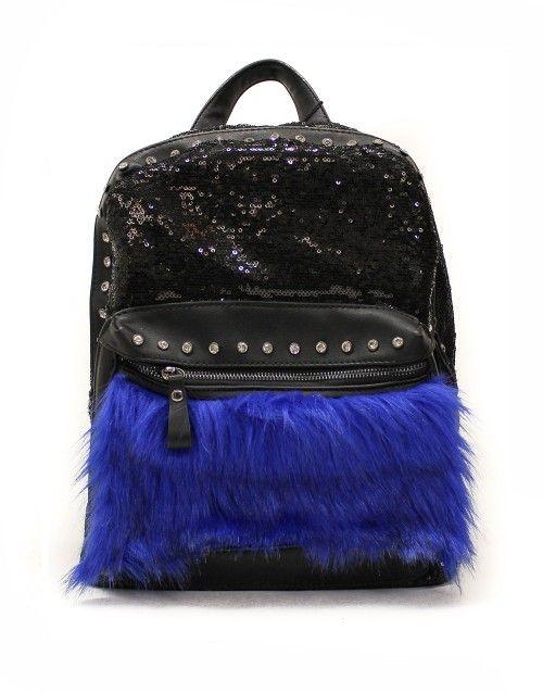 Τσάντα σακίδιο πλάτης - Μπλε 34,99 €