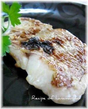 鯛の切り身レシピ・作り方の人気順|簡単料理の楽天レシピ 鯛の塩麹焼き