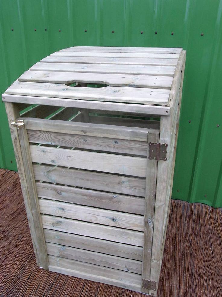 Details zu Mülltonnenbox Tonne Müllcontainer Müllbox