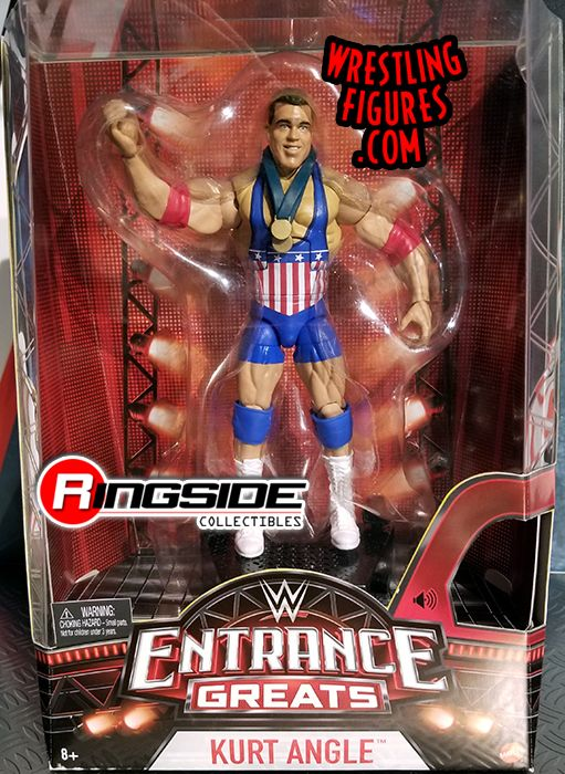 Kurt Angle - WWE Entrance Greats WWE Toy Wrestling Action Figure