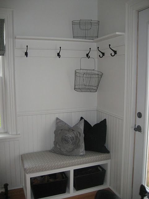 thinking this might be good by my back door, next to the laundry closet, with spaces big enough for laundry baskets...hmmm