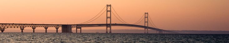 The Mackinac Bridge Authority offers items for sale at our Customer Service Center, which is open 24/7, or through the mail. View our items, download theorder form and mail it in to get you Mackinac Bridge Authority items.  Mackinac Bridge posters