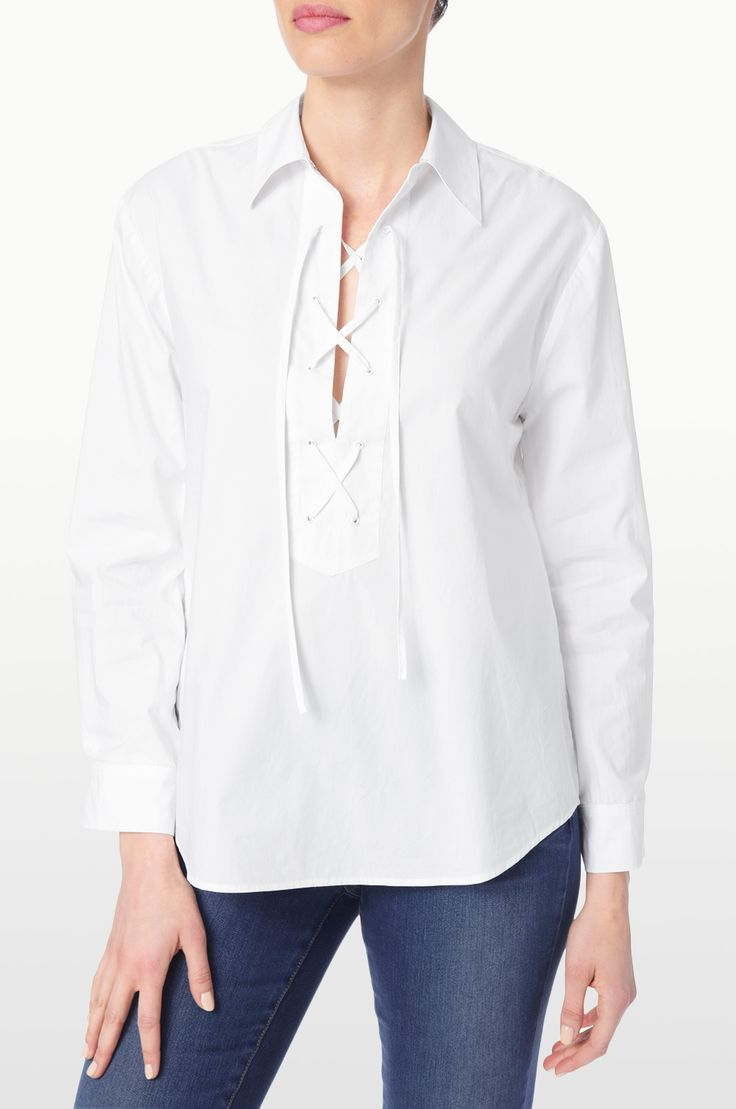7 best The NYDJ White Shirt Collection images on Pinterest | Dress ...