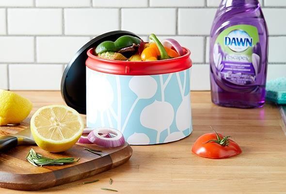 Ne gaspillez rien grâce à un bac de compostage pour la cuisine à réaliser soi-même