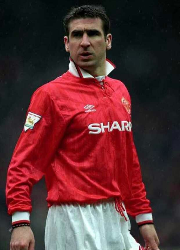 Eric Cantona of Man Utd in 1993.