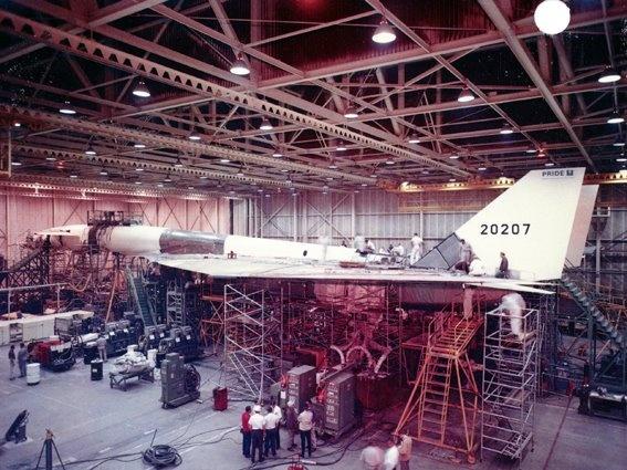 XB-70 Valkyrie.