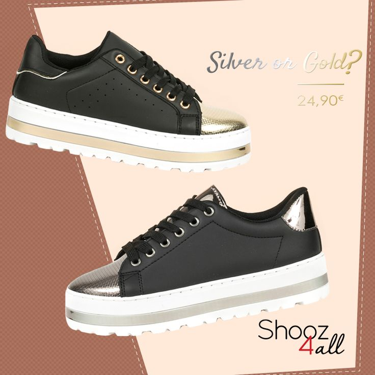 Εσύ ποιο θα διαλέξεις? http://www.shooz4all.com/el/gynaikeia-papoutsia #shooz4all #sneakers #gynaikeia