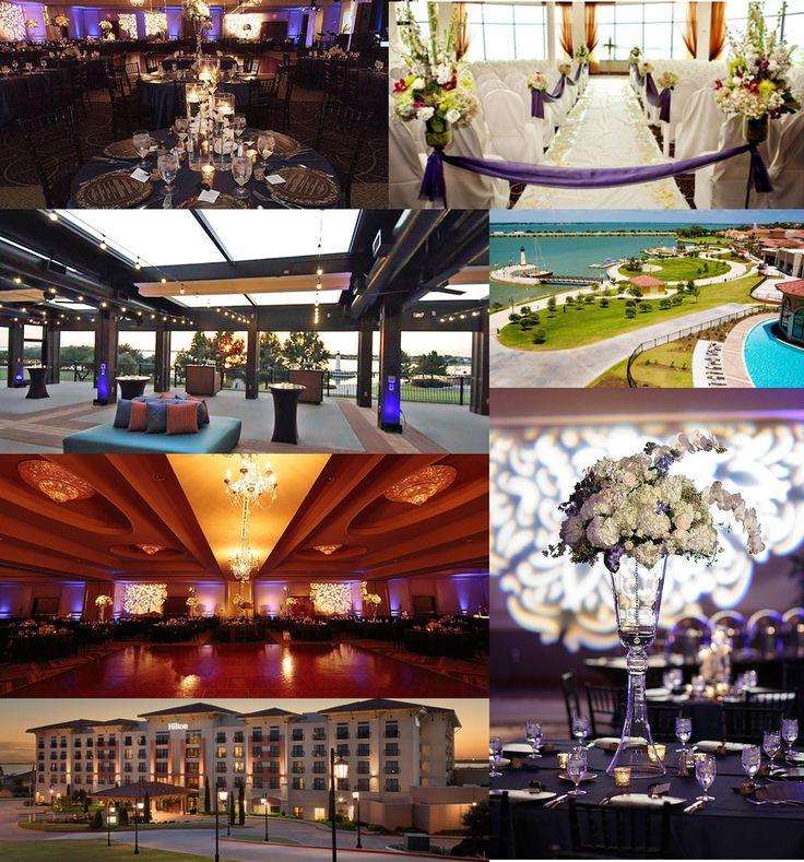 Hilton Dallas Rockwall Lakefront DFW Wedding Ceremony And Reception Venues