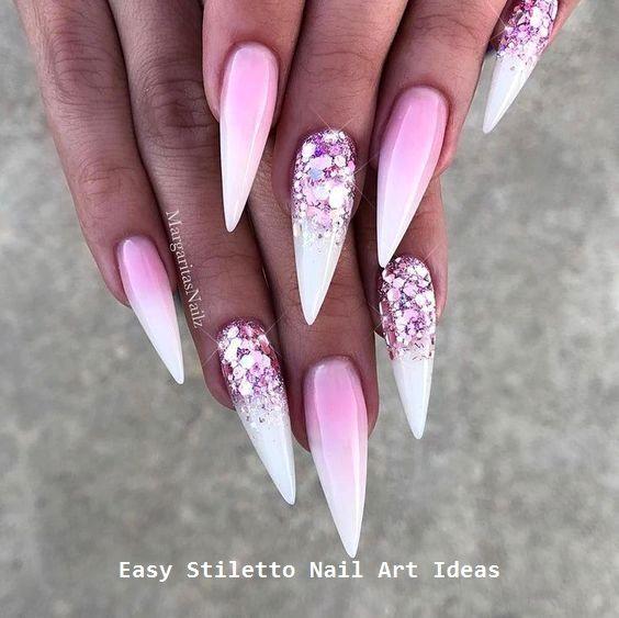 30 große Stiletto Nail Art Design-Ideen #nailart #nail – Stiletto Nails