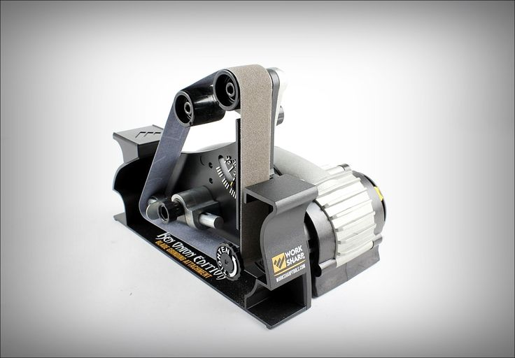 """Work Sharp WSSAKO81112 Blade Grinder Attachment with WSKTS-KO Electric Knife sharpener performs unequivocally. There are 4 pulley connection which can be moved from 10 Degree to 35 Degree. It accompanies with 1"""" x 18"""" built grating belts in an extensive variety of grits. This connection is same to what edge creators use."""