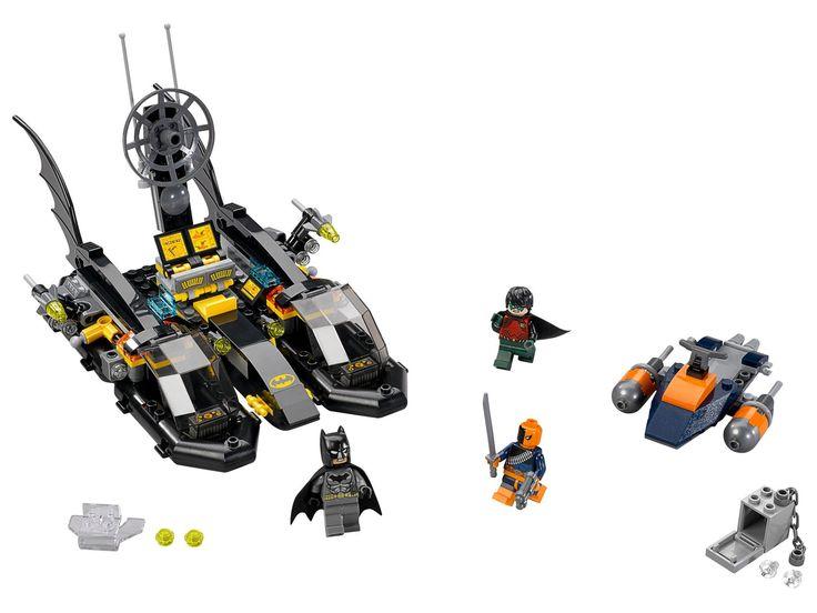 LEGO 76034 - LEGO DC UNIVERSE SUPER HEROES - The Batboat Harbor Pursuit - Toymania Lego Online Shop 42E