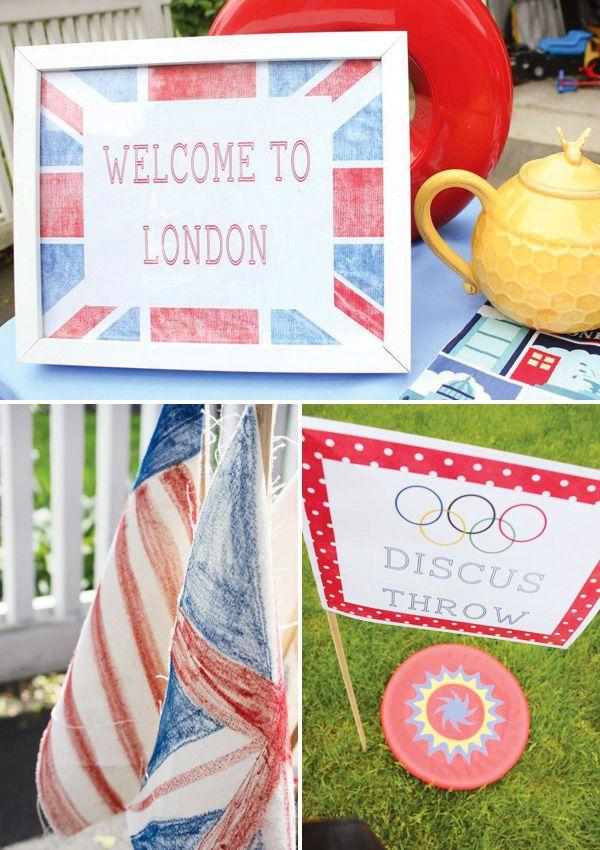 Olympics Themed Party Ideas!: Theme Birthday Parties, Birthday Parties Theme, Olympics Theme Parties Games, Cute Ideas, Parties Ideas, Party Ideas, Olympics Birthday, Olympics Parties, Themed Parties