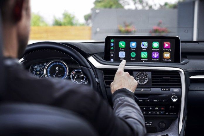Lexus Rx Finally Getting Carplay And Android Auto Models Men Displays