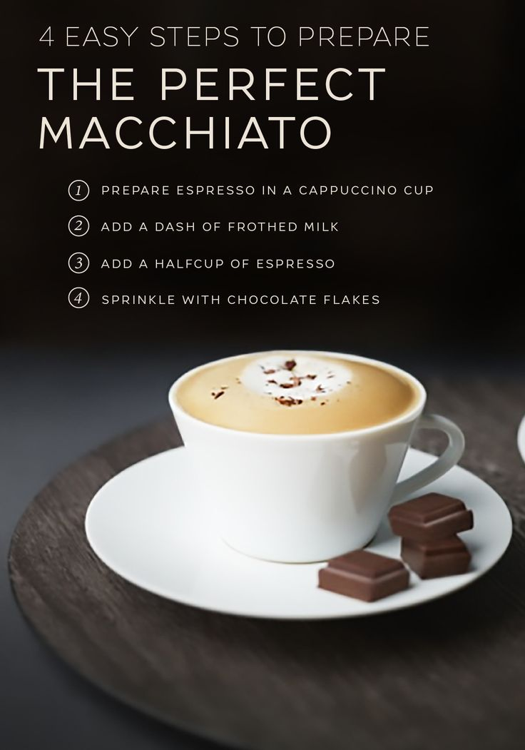 Take the time to get back to the basics with this easy Macchiato recipe from Nespresso. Classic flavors of bold espresso mix with creamy milk foam and rich chocolate for a drink that's absolutely timeless. Enjoy this classic beverage to start your day off right with a luxurious coffee moment.