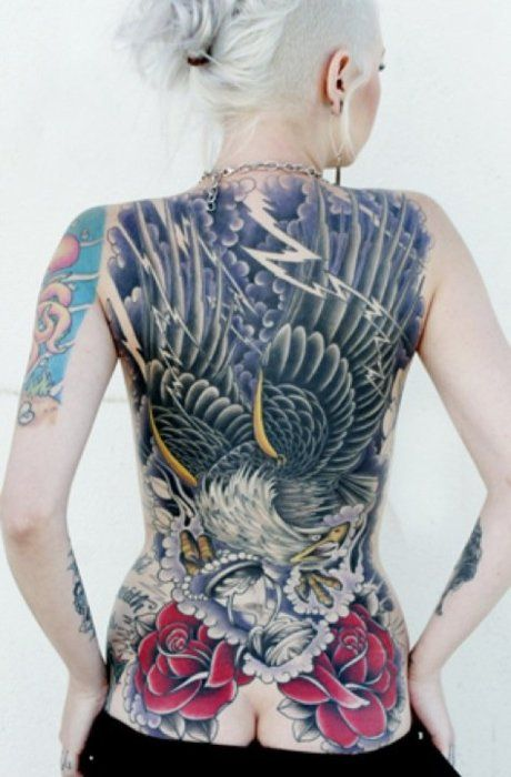 Wow, the color and detail.: Tattoo'S Idea, Tattoo'S 01, Tatto Girls, Living Art, Irezumi Tattoo'S, Extreme Tatts