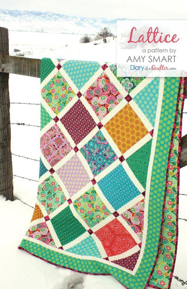 93 besten Quilt Patterns Bilder auf Pinterest | Steppmuster ...