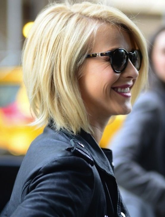 Blonde Bob Hairstyle ~ Love this cut! www.thechicsite.com
