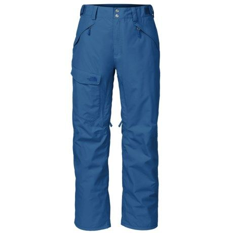 The North Face Freedom Ski Pants - Waterproof, Insulated (For Men) in Celestial Blue