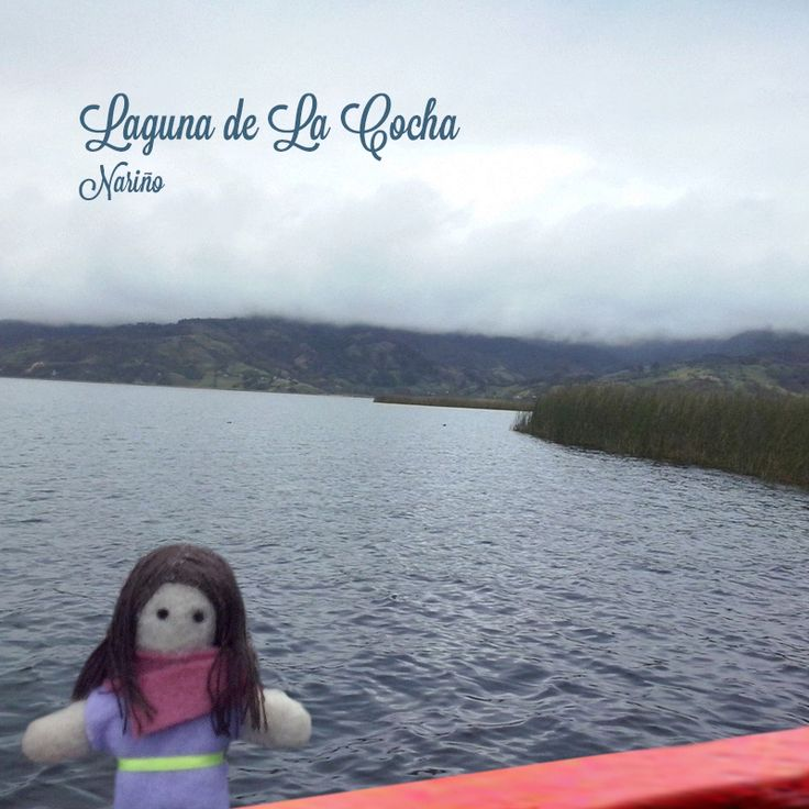 Dulce in Pasto Nariño, Colombia. Felted doll
