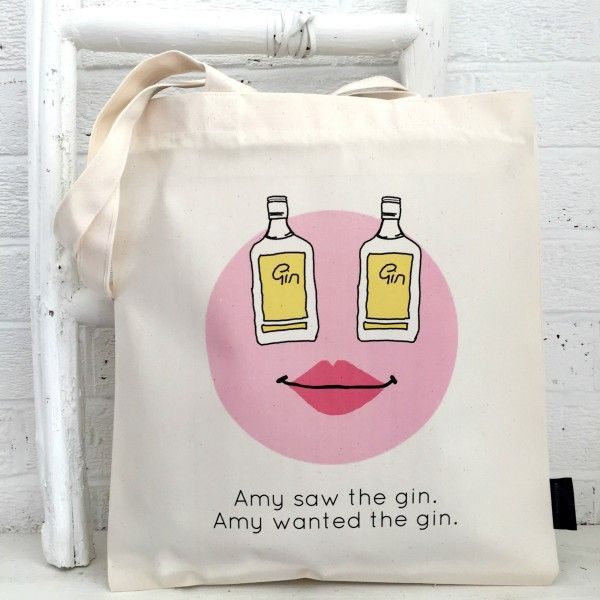 Gin lovers tote bag