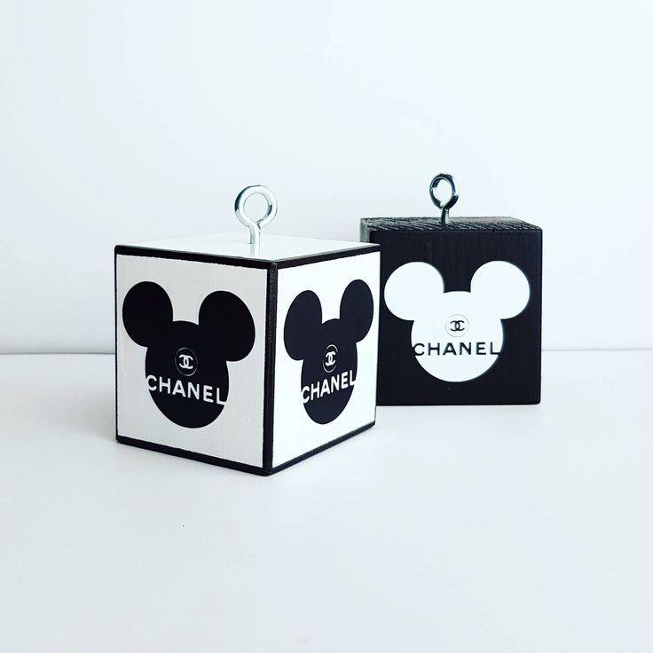 Weights for balloons with logo CC and Mickey Mouse di modernkub su Etsy