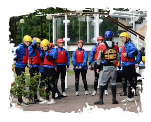 White water rafting - great idea for a stag or hen do!