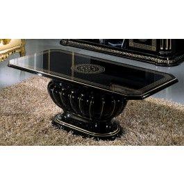 Rossella Italian Classic Black Coffee Table - 499.0000