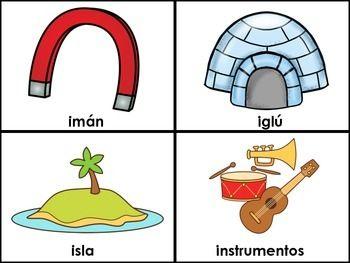 LA LETRA I (LAS VOCALES) - SPANISH FLASHCARDS FOR THE LETTER II - Recurso en espanol. Leyendo palabras simples que comienzan con la letra Ii. Barajas de memorizacion para reconocimiento de vocales.