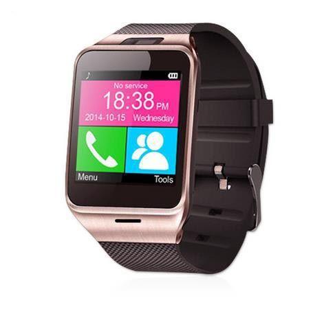 2016 gps תמיכה aplus gv18 קישוריות bluetooth smart watch שעון סנכרון notifier כרטיס ה-sim תמיכה טלפון apple iphone אנדרואיד