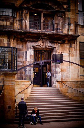 Architect-Mackintosh_Charles Rennie: Glasgow School of Art-Scotland
