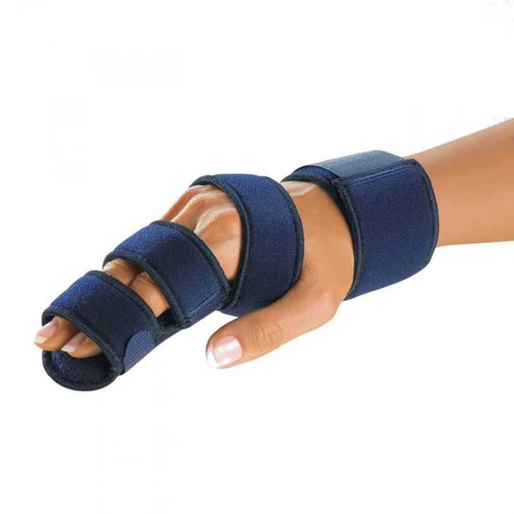 Sorry, that Thumb immobilization splint something
