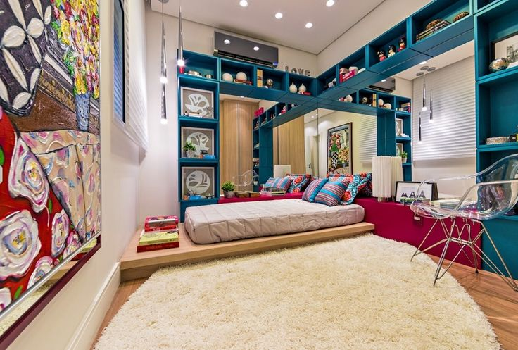 quarto de menina / bedroom / girl / apartamento decorado / home decor / bohrer arquitetura / interior design