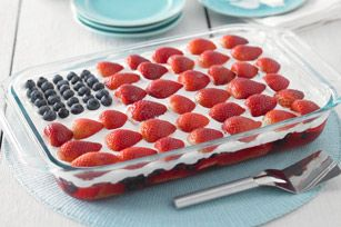 Happy Flag Day! Celebrate with this Wave Your Flag Cake recipe