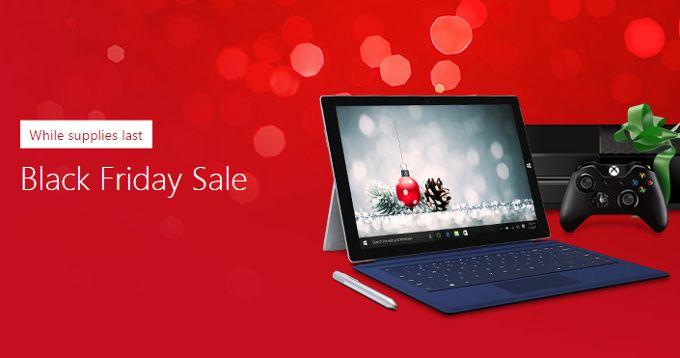 Black Friday Microsoft: Surface Pro 4 da 779€, Xbox One da 199€ e molto altro  #follower #daynews - http://www.keyforweb.it/black-friday-microsoft-surface-pro-4-779e-xbox-one-199e-altro/
