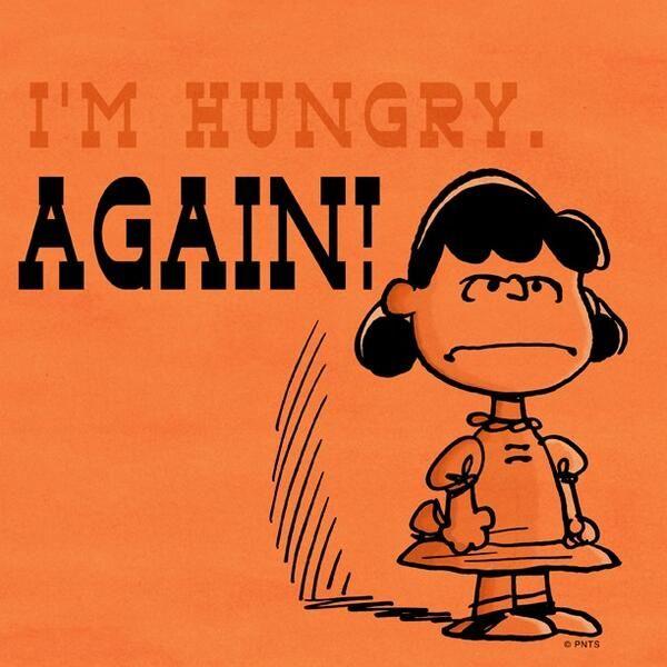 I'm Hungry. AGAIN!