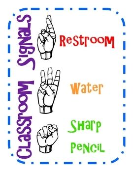 Teaching sign language in american classrooms