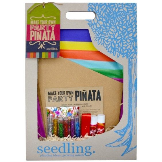 Seedling - Make your own Party Piñata - Get your Christmas Party started! #PintoWin #EntropyWishList