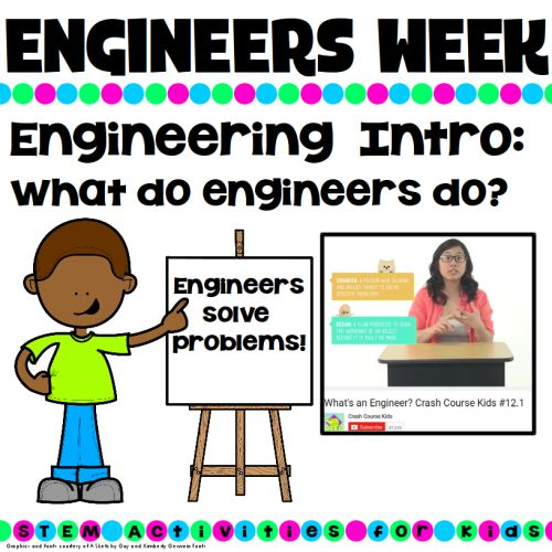 What is an engineer? What do engineers do? Great post from STEM Activities for Kids blog