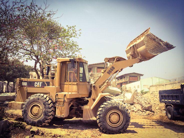 Demolición del Colegio Carlos Meisel. Barranquilla, Colombia