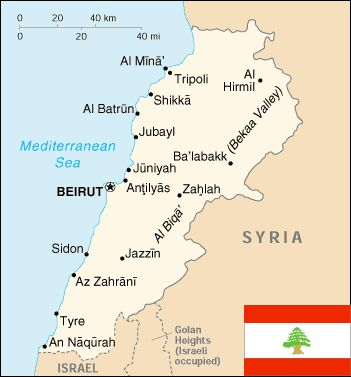This map of modern Lebanon reveals some of the continuity between ancient Phoenicia and the modern Lebanese state. The northern-most Phoenician city-state was Arvad, just a bit beyond the northern borders of Lebanon; the southern-most Phoenician city-state was Akko, known today as Acre, and it lies just inside the Israeli border. The boundaries of ancient Phoenicia thus looked like a slightly extended version of modern Lebanon.