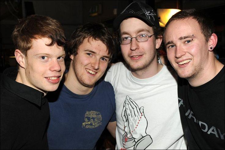 Blackburn rock band Reason Unknown - Tom Haworth, Ben Rutter, Jacob Whittle and Sean Murphy